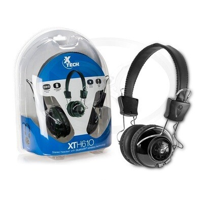 Xtech Wireless XTH-610 Bluetooth Headset with Vol/Mic