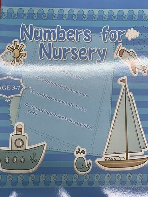 Book Numbers For Nursery