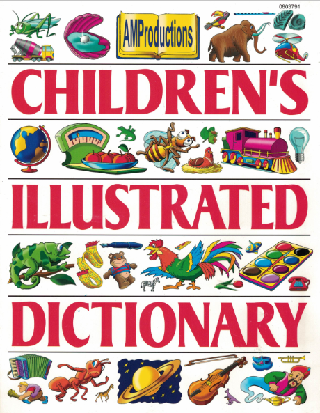 Children Illustrated Dictionary