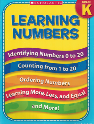 Learning Numbers - Workbook