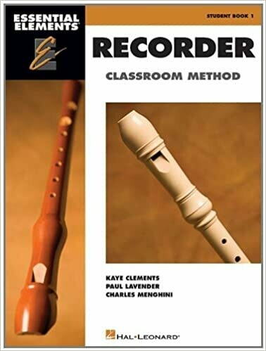 Essential Elements for Recorder Classroom Method - Student Book 1- Book Only