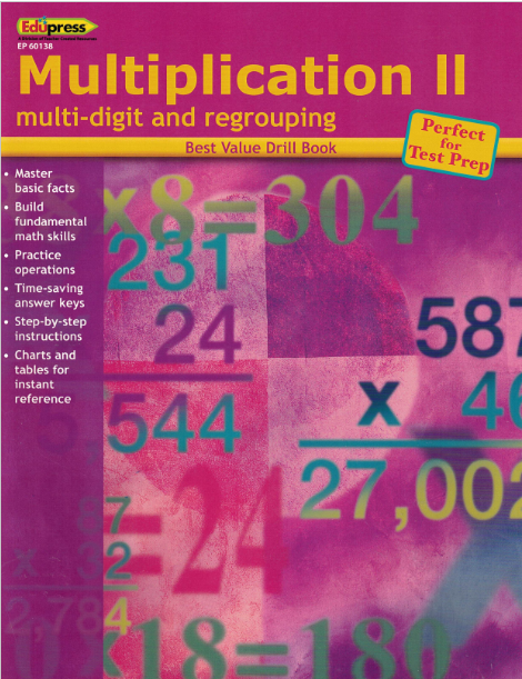 Multiplication II - workbook