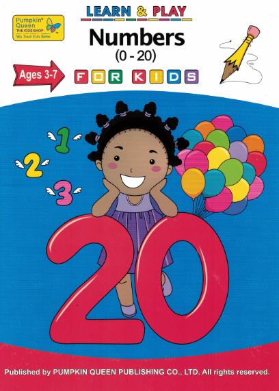Numbers (0-20) Learn & Play Workbook