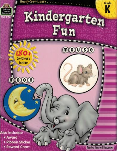 Kindergarten Fun- Workbook