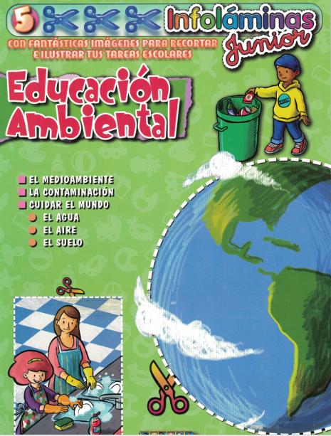Libro de láminas Educación Ambiental