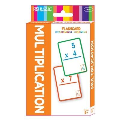 Flash Cards Multiplication