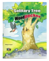"""Story Book The Solitary Tree and the Woodpecker - English 7"""" x 9"""""""