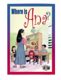Big Book Where is Ana? - Inglés
