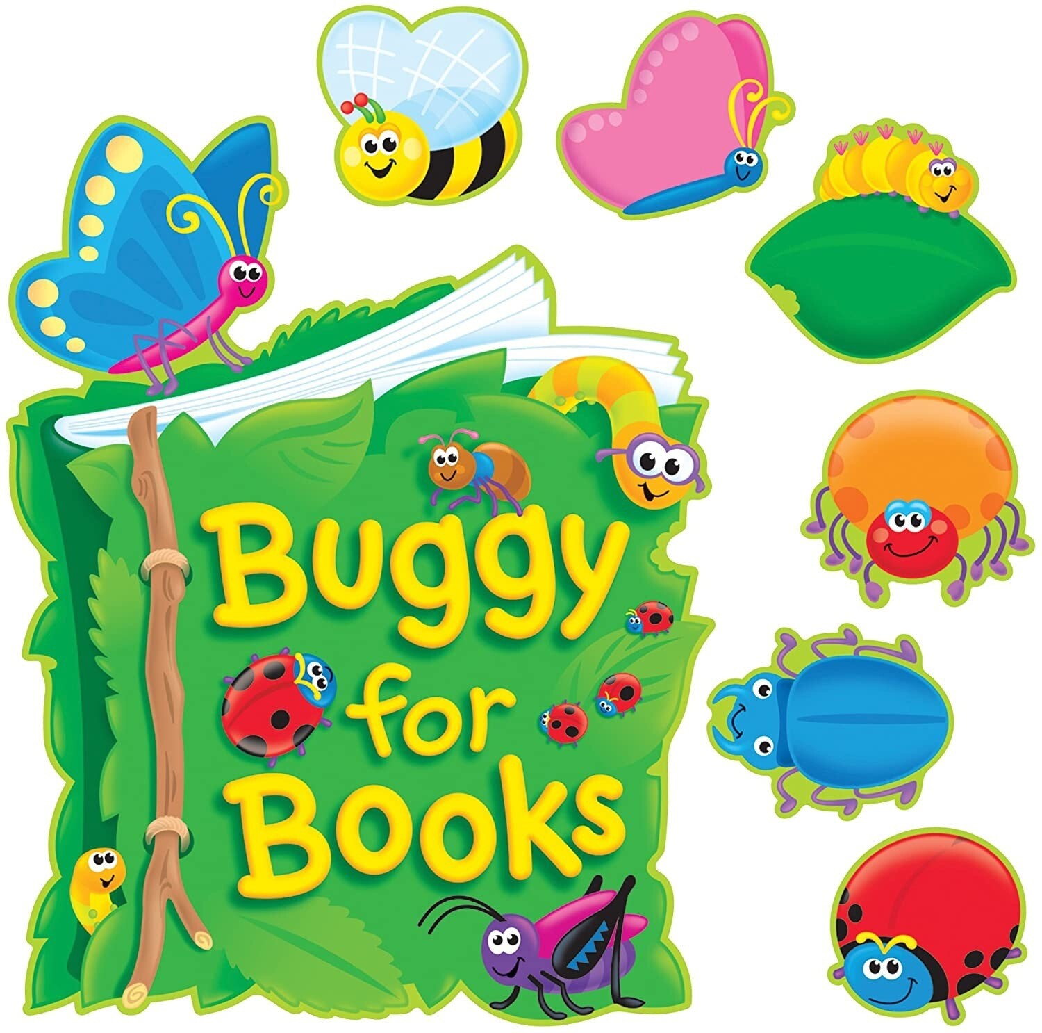 Buggy For Books - Set