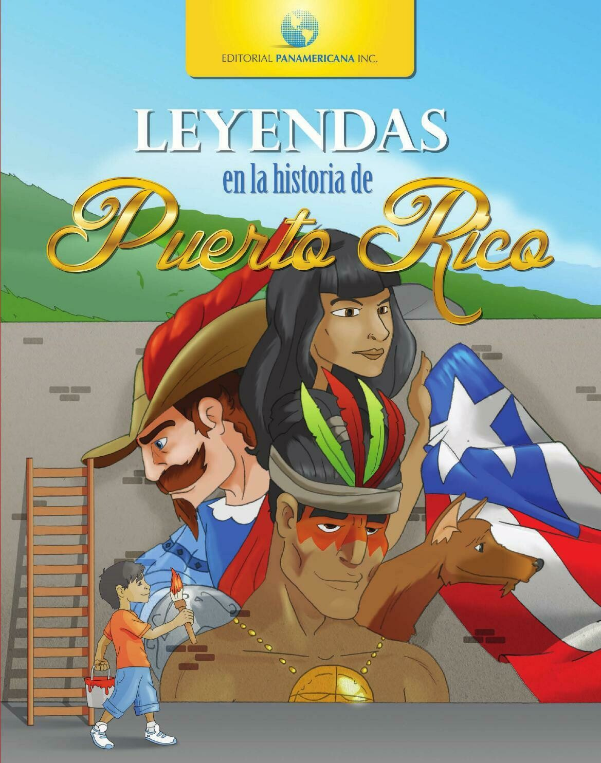 Big Book Leyendas en la Historia de PR- Carpeta Dura