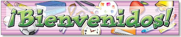 Banner Bienvenidos! 6'