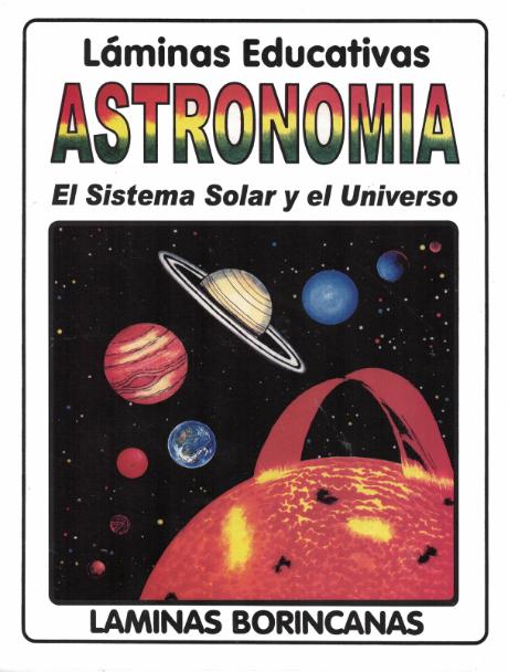 Láminas Astronomía- El sistema solar y el universo