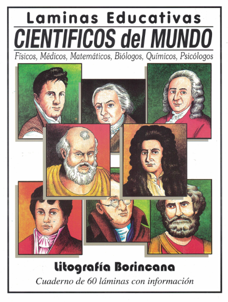 Láminas Científicos del mundo