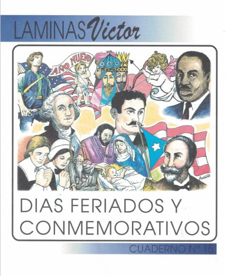 Láminas de Días Feriados y Conmemorativos