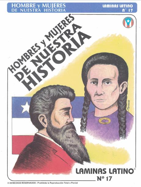 Láminas Hombres y Mujeres de Nuestra Historia