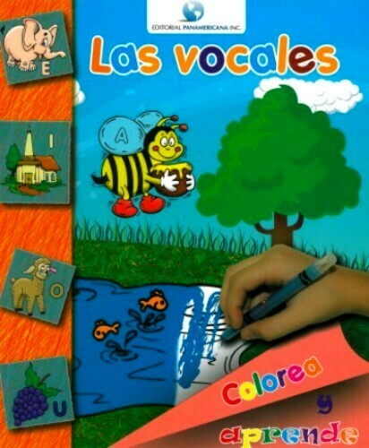 Colorea y Aprende Las Vocales- Workbook