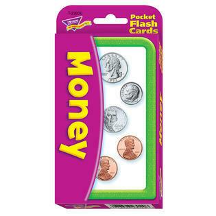 Educational Flash Cards Money
