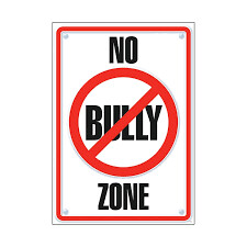 Poster No Bully Zone