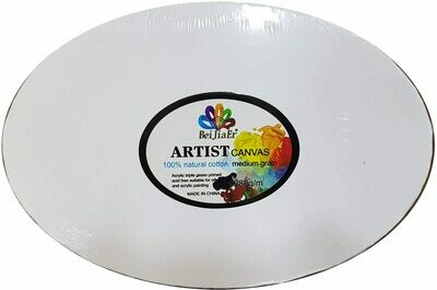 Canvas Oval