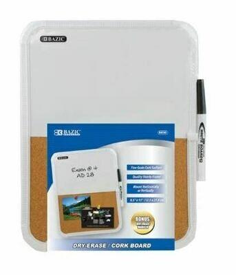 Dry Erase/Cork Board 8.5
