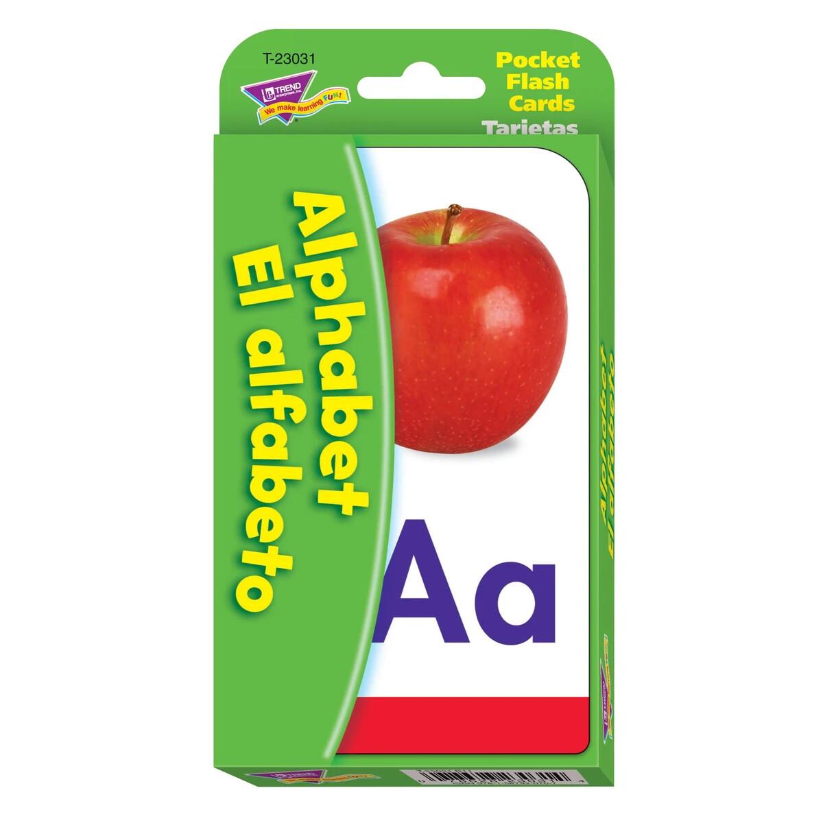 Flash Cards Alphabet/El Alfabeto (Bilingüe)