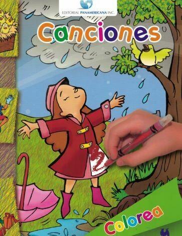 Book Colorea y Aprende Canciones