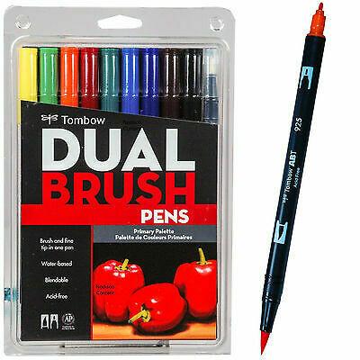 Tombow Professional Dual Brush Pens [pk-10]