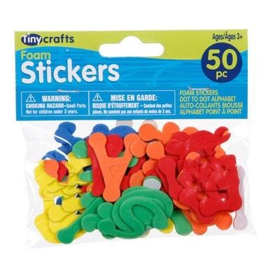 Foamies Stickers Alphabet 50Pc