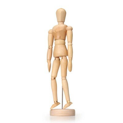 Art Mannequin - Poseable Wooden Figure - 8