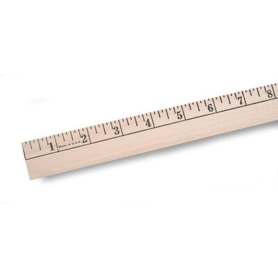 Wood Yardstick - 36 inches