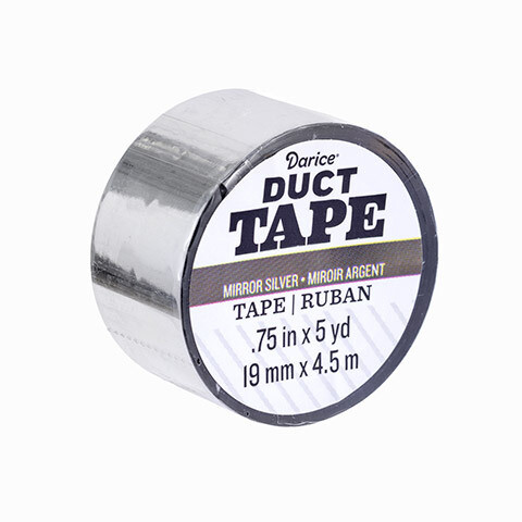 Darice® Mini Duct Tape in Silver- 5yds