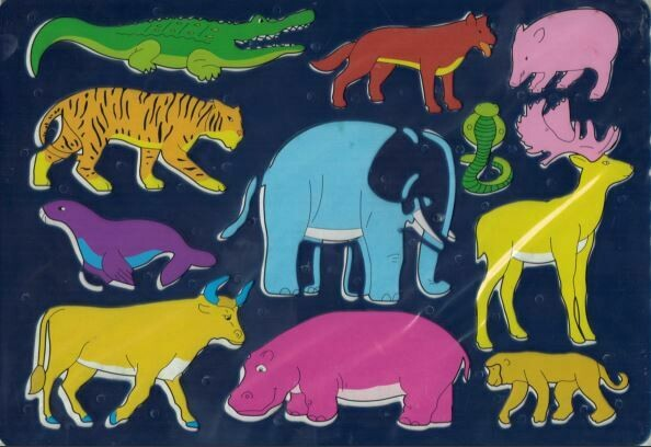 Stencils Pictures- Animals