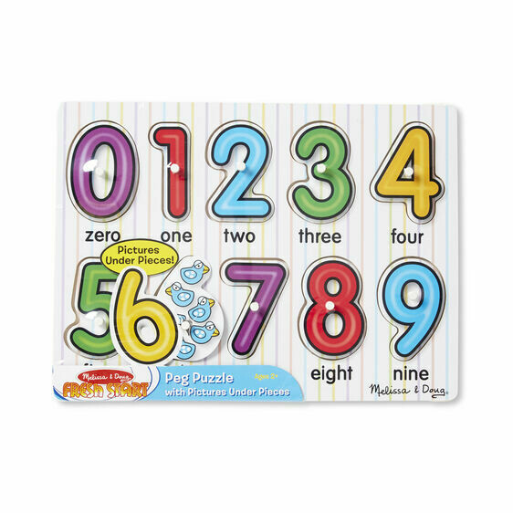 Puzzle Game Numbers