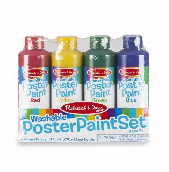 Tempera Poster Paint Set-4