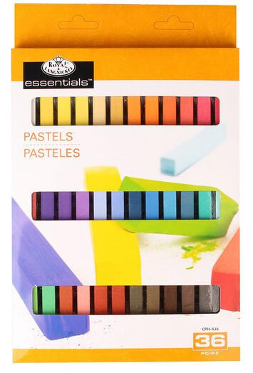 Soft Pastels 36 Colors Half Stick