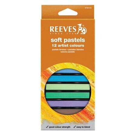 Reeves Soft Pastels 12 Colors