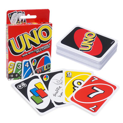 Playing Game Cards UNO