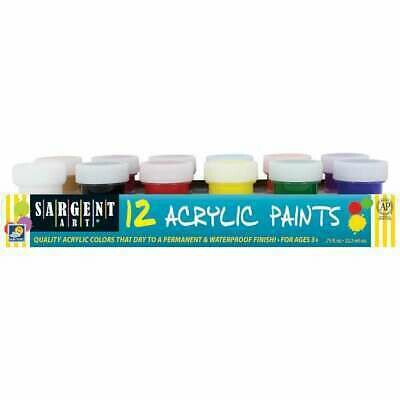 Acrylic Paints 12 colors