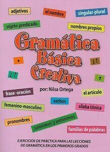 Book Gramática Básica Creativa