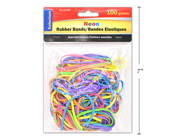 Rubber Bands Neon #32