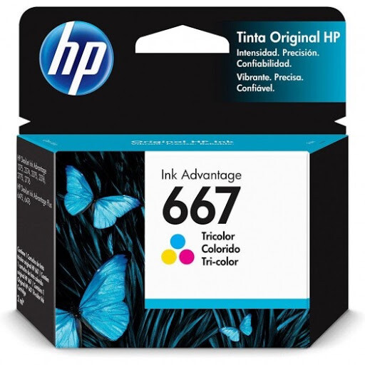 Ink HP 3YM79AL [667] Color