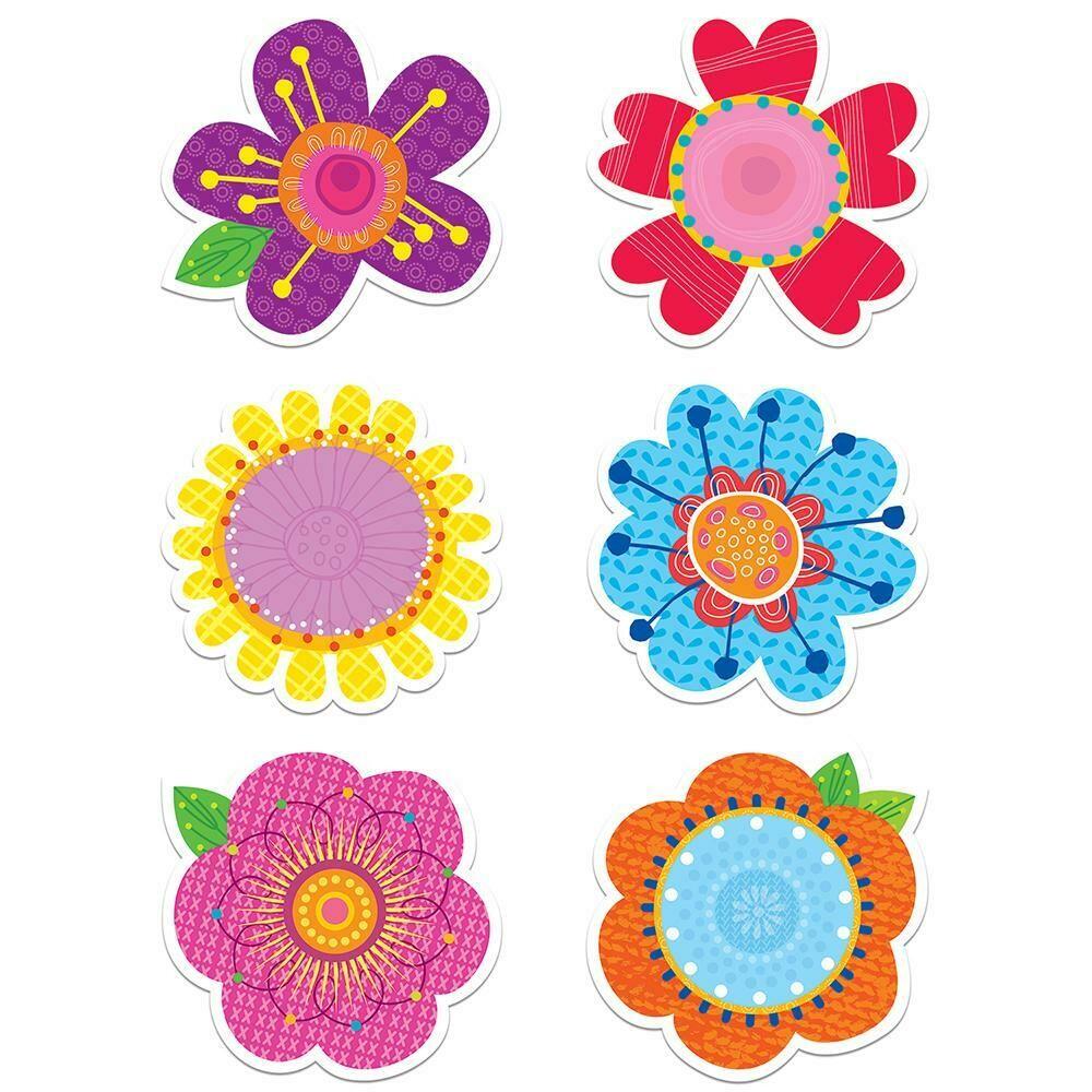 "Springtime Blooms 6"" Designer Cut-Outs"