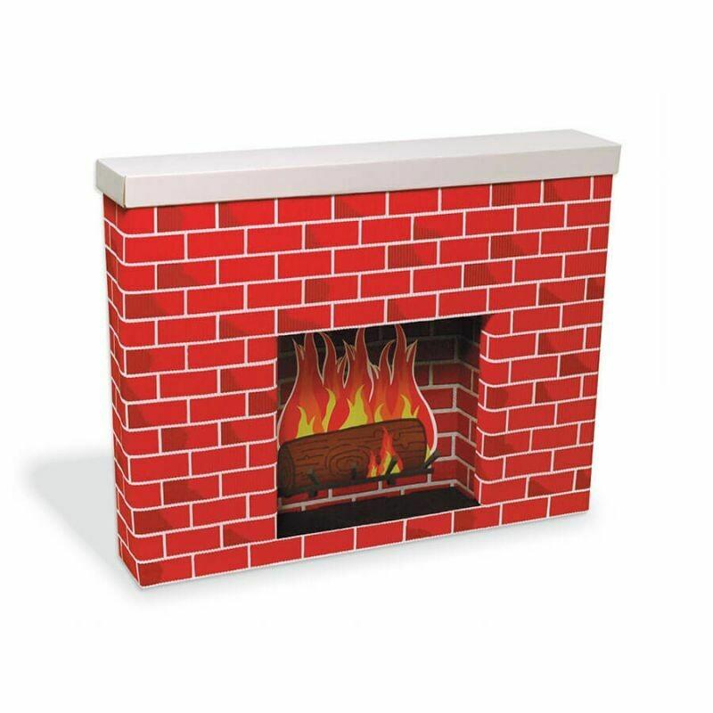 Fireplace (Chimenea) de Cartón Corrugado