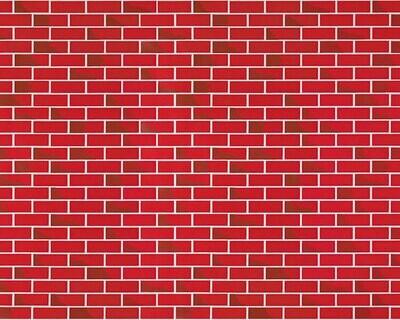 Papel de Traza con Diseño- Brick Red