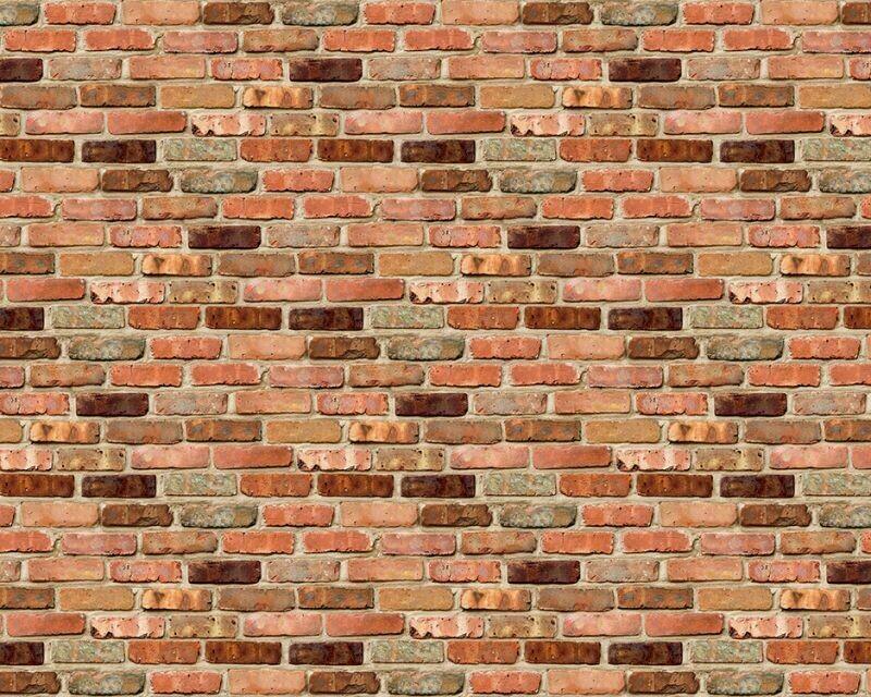 Papel de Traza con Diseño- Brick Brown