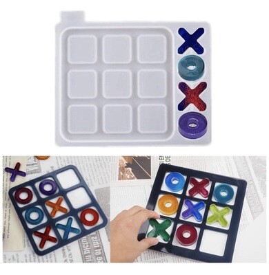 Tic Tac Toe Mold For Resin