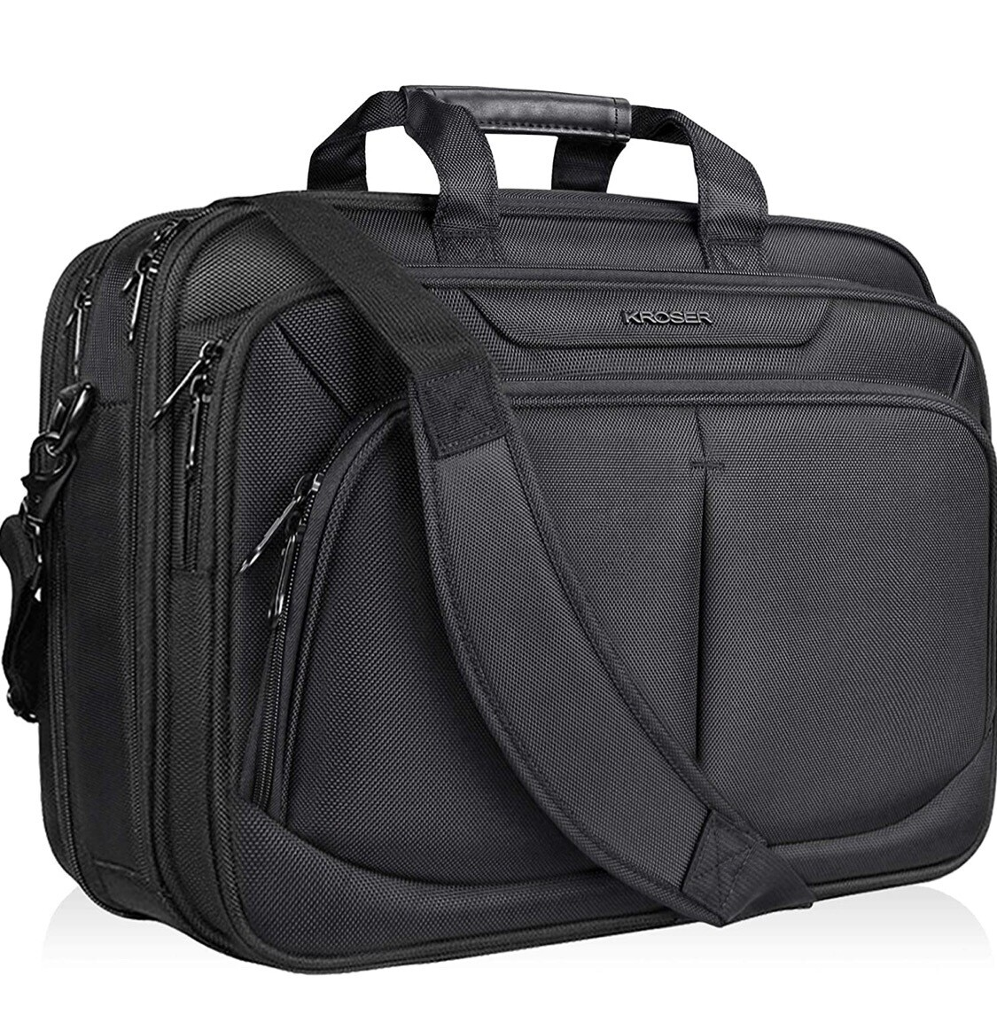 Laptop Briefcase 17 inch Black