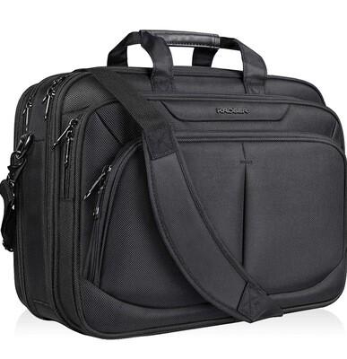 Laptop Briefcase 17 inch Black