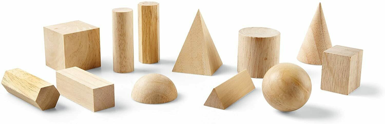 Geometric Solids Wood (st-12)