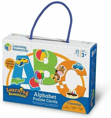 Alphabet Puzzle Cards (52pcs)